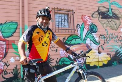 Lionel McNeely, 2021 Bike Champion of the Year Award Winner, Alameda County