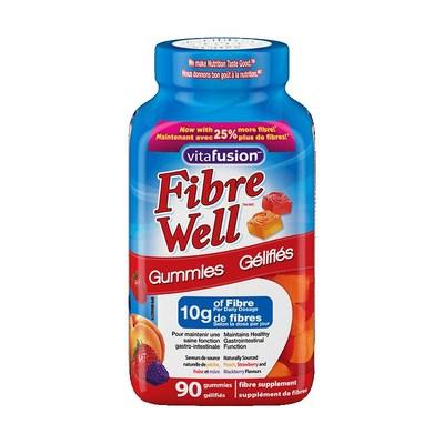 vitafusion Fibre Well 90-count bottle (CNW Group/Health Canada)