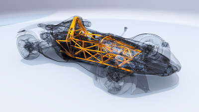 BAC and CBMM prove efficiency of the use of niobium in supercar