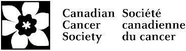 Logo Societe canadienne du cancer (CNW Group/Canadian Cancer Society (National Office))