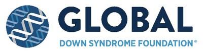 Global Down Syndrome Foundation Logo (PRNewsfoto/Global Down Syndrome Foundation)