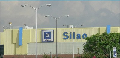 General Motors truck plant in Silao, Mexico (CNW Group/Unifor)