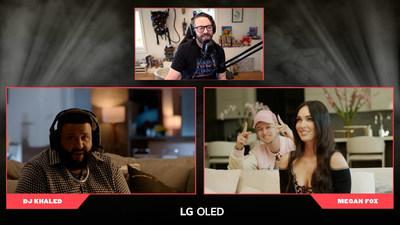 DJ Khaled and Megan Fox Kick Off LG Electronics USA's Only On OLED Campaign