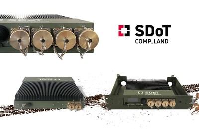 Uni- and Bi-directional Tactical Cross Domain Solution SDoT COMP-LAND (PRNewsfoto/INFODAS GmbH)