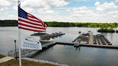 View from the marina at Tennessee National on Watts Bar Lake