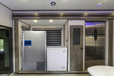 StemExpress' Mobile Unit Interior