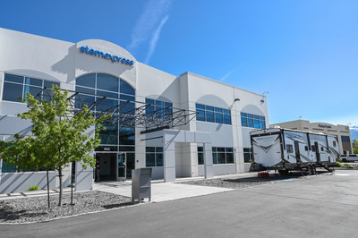 Exteriors of the new StemExpress facility and Mobile Unit in Reno, NV
