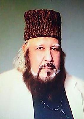 His Eminence El Sheikh Syed Mubarik Ali Shah Gillani