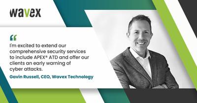 Wavex's Advanced Threat Detection solution helps companies detect breaches in minutes (PRNewsfoto/Wavex Technology)