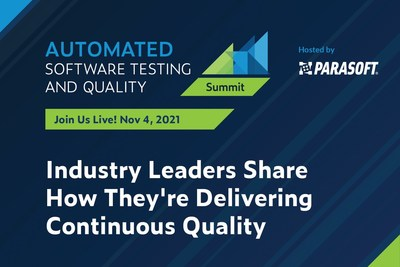 Automated Software Testing & Quality Summit - November 4, 2021